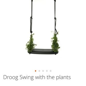 Droog Swing with the plants